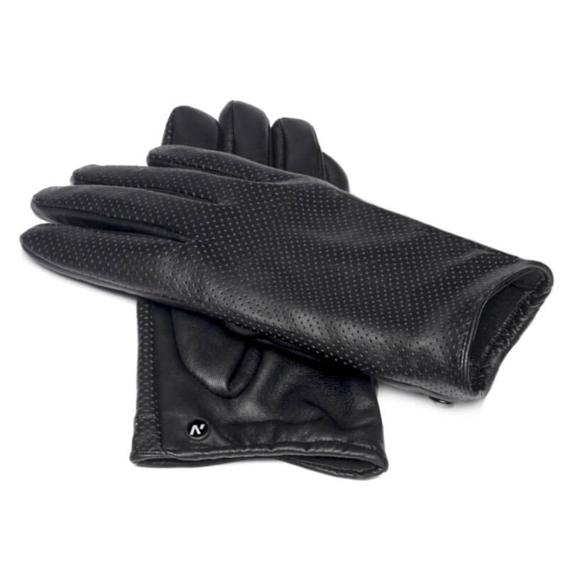 Women's gloves from eco leather