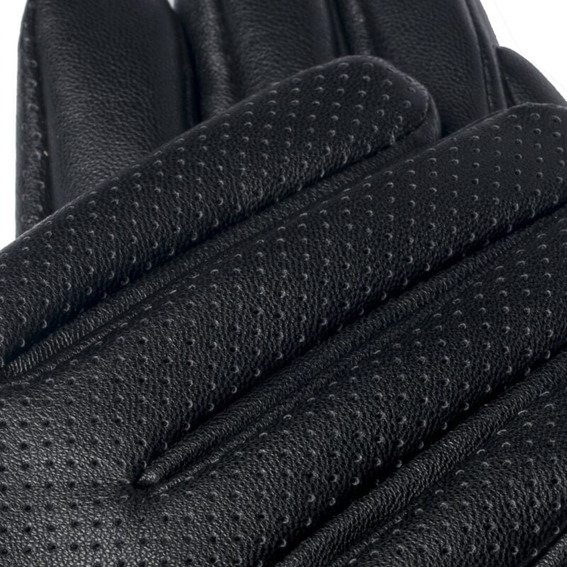 Women's touchscreen gloves from eco leather