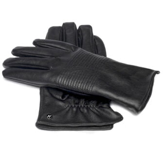 Eco-leather gloves for men