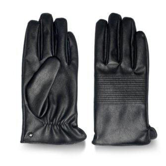 Touchscreen gloves from eco leather