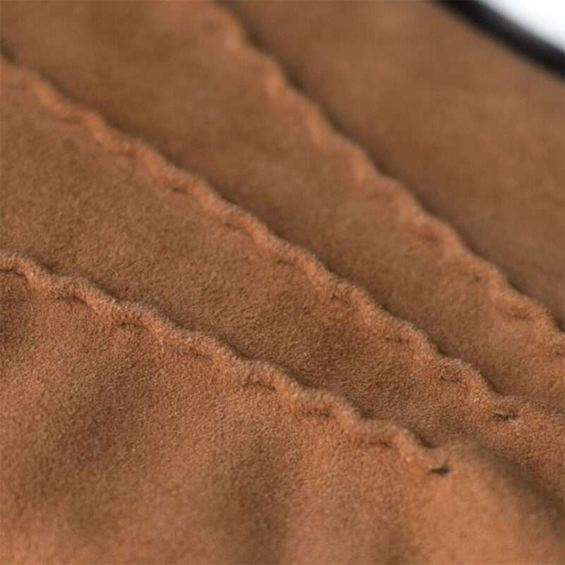 Camel suede gloves touchscreen